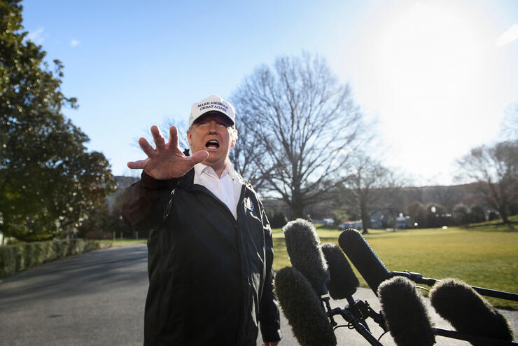 Trump says he could declare national emergency over southern border