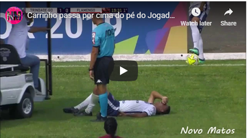 The Common Man - VIDEO: Injury Cart further injures Soccer Player