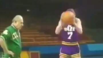 Sean Salisbury - Watch Pete Maravich Doing Something Nuts with a Basketball