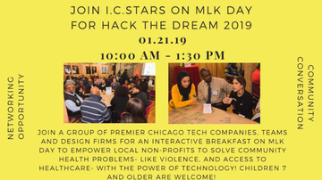 Community - Join I.C. Stars On MLK Day For Hack The Dream