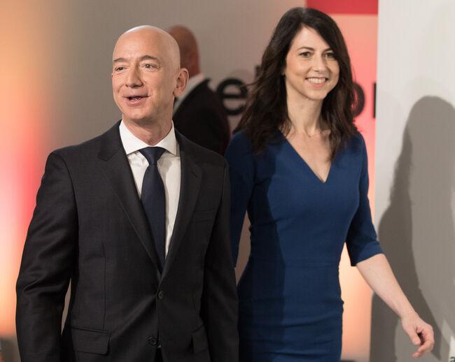 Jeff & MacKenzie Bezos