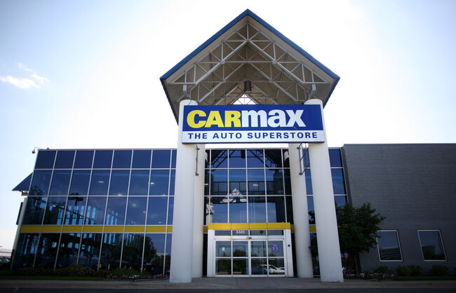 CarMax Getty Images