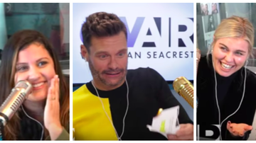 Ryan Seacrest - Ryan Hilariously Tries Anne Hathaway's Stress Relief Method