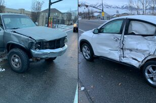 Blindfolded Driver Crashes While Participating in 'Bird Box' Challenge