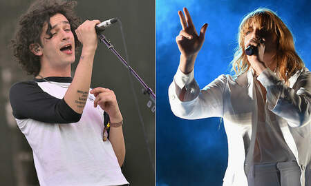Trending - The 1975, Florence + The Machine Lead BRIT Award Nominations