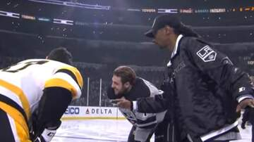 Blind Dog Scott Gilbert -  Snoop Dogg Provides Commentary During LA Kings Hockey Game