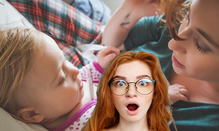 Weird News - Mom's NSFW Lifehack For Clearing Up Baby's Chest Congestion Goes Viral