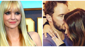 Entertainment News - Anna Faris Congratulates Ex Chris Pratt on Engagement
