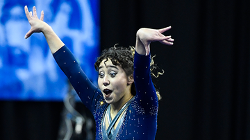 Trending - Gymnast Going Viral For Flawless Routine Has Amazing Life Story