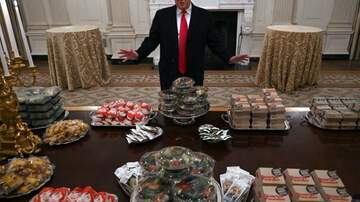 Klinger - Trump Serves McDonald's, Wendy's and Burger King To Clemson Football Team