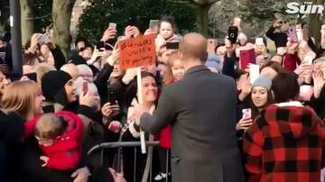 Dave Alexander - Prince Harry Hugs 4-Year-Old Girl After Spotting Her 'Gingers Unite' Sign