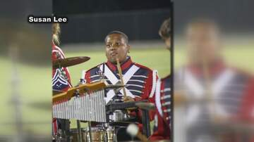 Rob and Hilary - TMSG - Band members and families raise money for Sgt. Carter's family