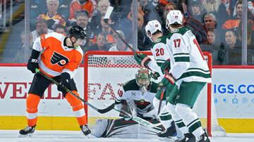 Wild - Flyers Outgun Wild in 7-4 Loss | KFAN 100.3 FM
