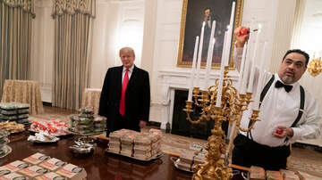 The KFAN Bits Page - Lovin' it: Trump fetes champion Clemson with burgers, fries | KFAN 100.3 FM