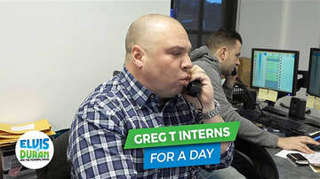 Elvis Duran - Greg T Is Our 'Phone' Intern for the Week (Video)