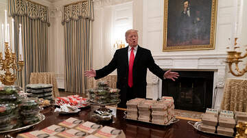 Shannon's Dirty on the :30 - President Trump Serves Fast Food to Clemson Football Champs