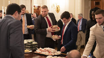 National News - President Trump Catered Fast Food Buffet To Honor Clemson Tigers