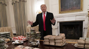 Mani Millss - Clemson Tigers Served Fast Food at White House