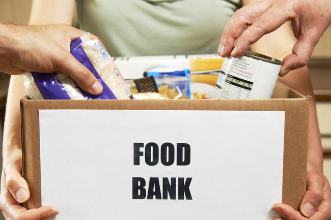 Food Bank Getty RF