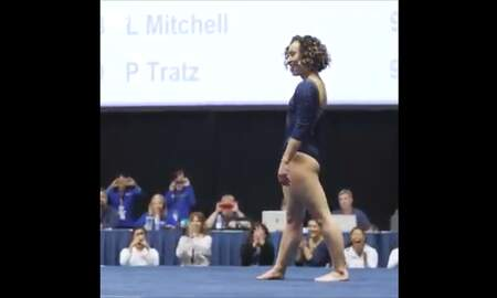 Tim Palmer - This UCLA Gymnast Has A Floor Routine You Have To See