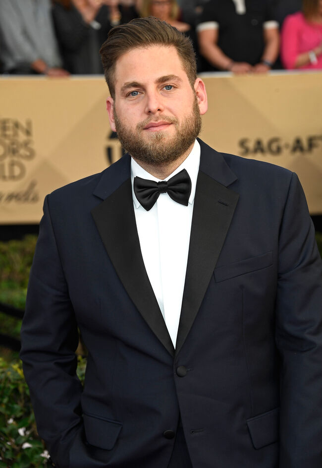 LOS ANGELES, CA - JANUARY 29: Actor Jonah Hill attends The 23rd Annual Screen Actors Guild Awards at The Shrine Auditorium on January 29, 2017 in Los Angeles, California. 26592_008 (Photo by Frazer Harrison/Getty Images)
