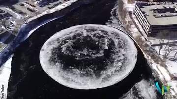Coast to Coast AM with George Noory - Giant Ice Disc Forms in Maine River