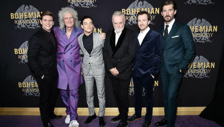 Queen's Brian May Shares Behind The Scenes Footage From 'Bohemian Rhapsody'