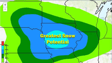 WOC Local News - More snow coming and Iowa is the bulls-eye SNOW MAP