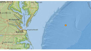 Lori - 4.7 Magnitude Earthquake Recorded Off Coast Of Virginia