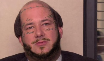None - Kevin from The Office is Kevin Post Malone.