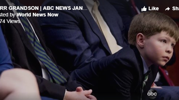 Beth Bradley - The grandson of Attorney General nominee William Barr charms lawmakers