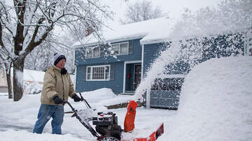Jeff Angelo on the Radio - Heavy Snow, High Winds Predicted This Weekend