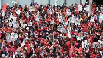 Local News - Teachers Strike Enters Third Day