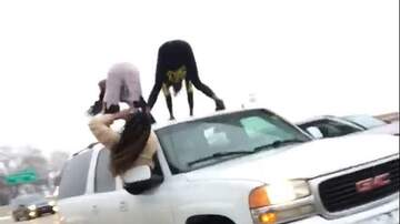 Cindy Scull Mornings - Women were Twerking on Roof of Speeding SUV in St Louis