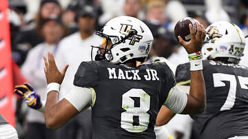 UCF Blog - Darriel Mack Jr Suffers Broken Ankle