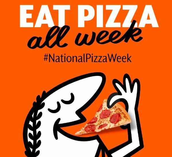 A lot Of Deals For National Pizza Week!