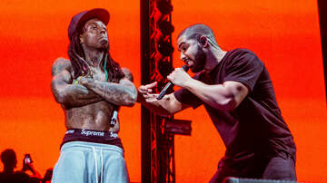 Trending - Lil Wayne Gifts Drake With The Ultimate Iced-Out OVO 6 Chain