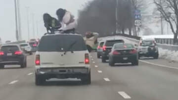 National News - Two Women Recorded Twerking On Top Of SUV On Busy Highway