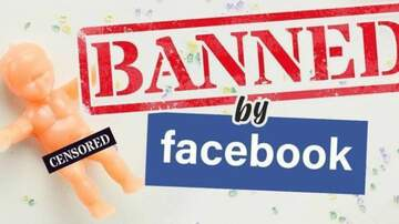 Blind Dog Scott Gilbert - Facebook Censors Ad Featuring King Cake Babies Due to Nudity