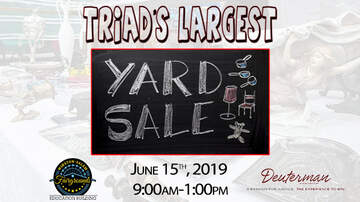 None - Triad's Largest Yard Sale 2019