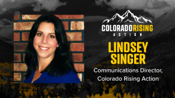Krista Kafer - Krista speaks with Lindsey Singer, Colorado Rising Action