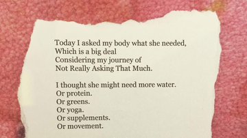 Elvis Duran - Web Girl Kathleen Shares A Beautiful Body Positivity Poem (Listen)