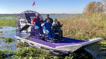 As Heard On The Monsters - Savannah goes to Boggy Creek Airboats!