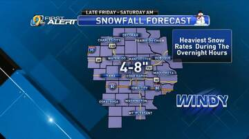 WMT Morning Show - Weekend Winter Storm Expected