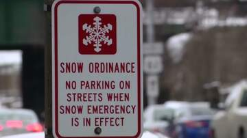 WOC Local News - Davenport snow clearing, car towing likely this weekend