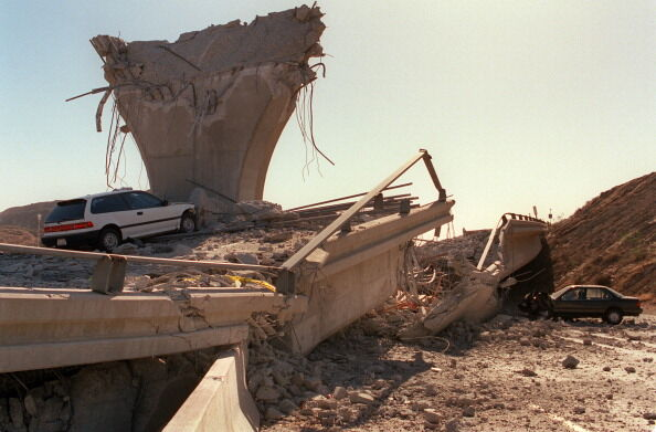 Northridge earthquake 1994  Getty Images