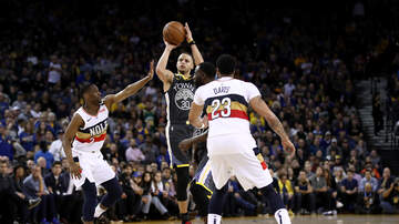 Louisiana Sports - Curry, Warriors Storm Past Pelicans, 147-104