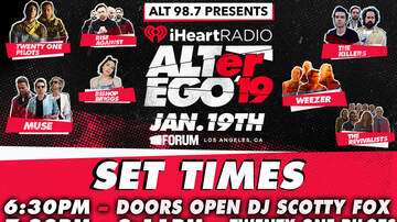 ALT 98 7 presents iHeartRadio ALTer Ego 2019 | iHeartRadio ALTer EGO