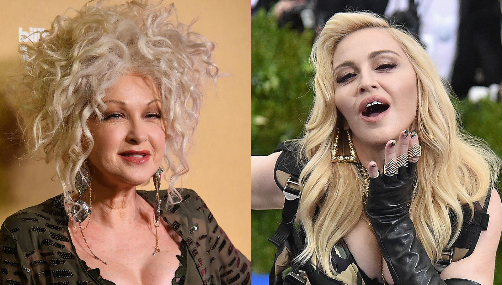 Cyndi Lauper Says She and Madonna Were Pitted Against Each Other