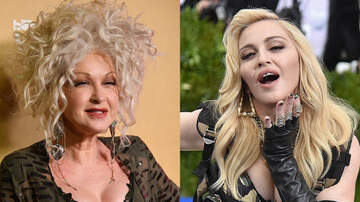 Jim Kerr Rock & Roll Morning Show - Cyndi Lauper Says She and Madonna Were Pitted Against Each Other
